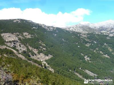 Sierra de los Porrones - Ruta de las Cabras; viajes turismo activo senderismo por libre